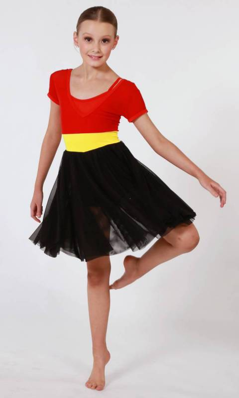RED EARTH  Dance Costume