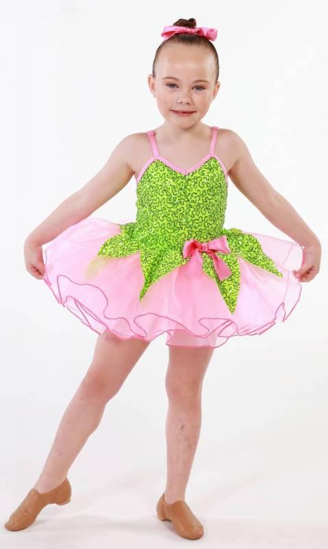 Garden Fairy  + Hair Bow Dance Costume