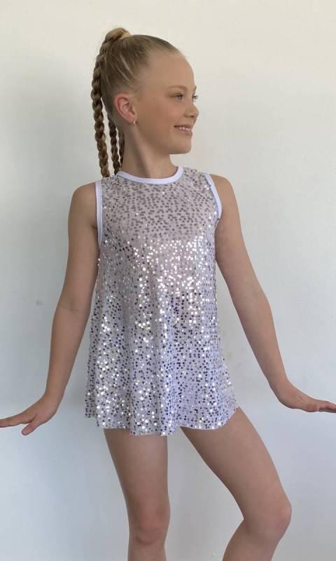 SEQUIN SWING TOP  Dance Costume