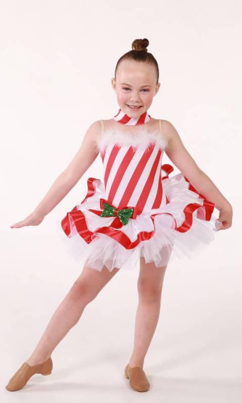 CHRISTMAS CANDY  Dance Costume