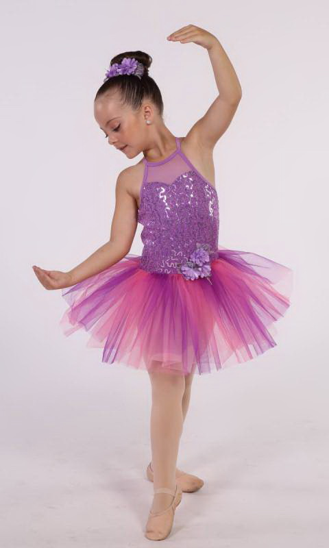FUCHSIA BELLE + Hair Accesory Dance Costume