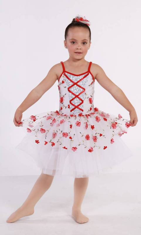 LITTLE FLOWERS - Bell tutu Dance Costume