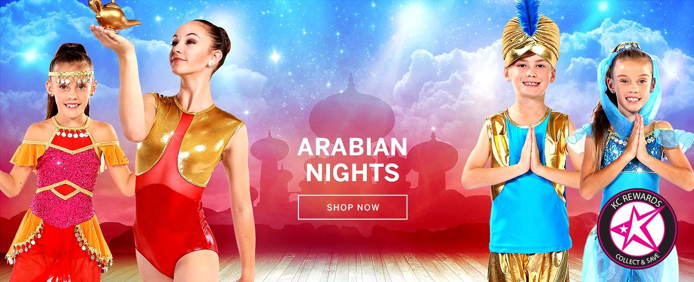 Arabian Nights Dance Studio Customes